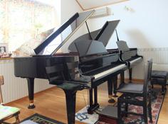ピアノ教室レッスンルーム写真